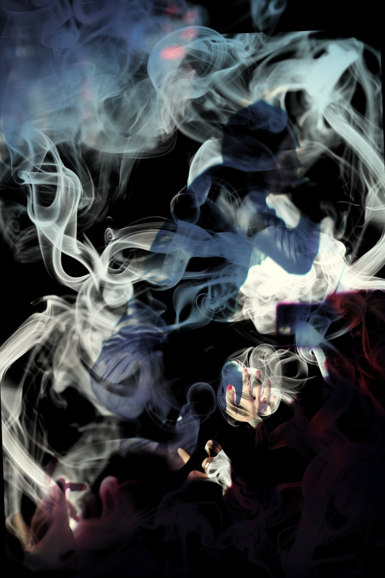 Smoking Nick Cave